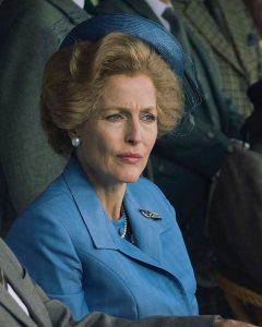Gillian Anderson, Margaret Thatcher in The Crown 4